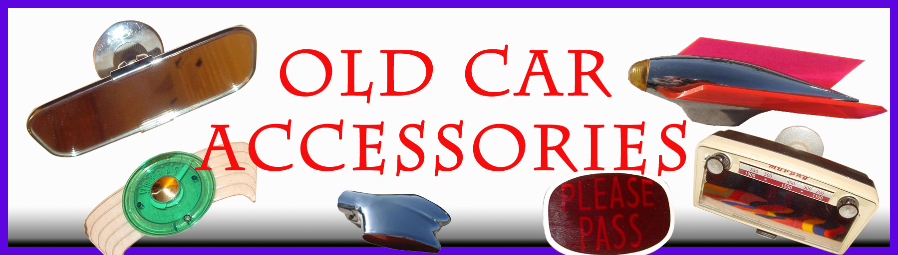 oldcar Accessories
